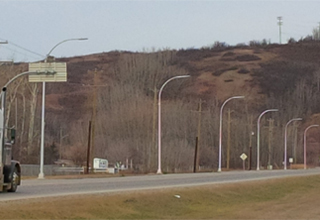 Dynamic message board signs will advise motorists of local fog and road conditions, construction advisories as well as being part of the provincial Amber Alert program.