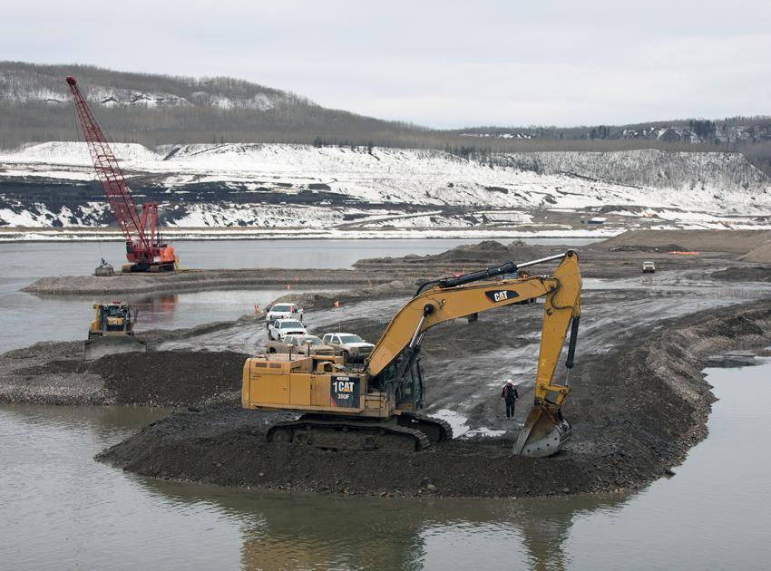 In-river works – dredging (April 2018)