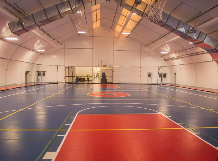 Multipurpose gymnasium. (September 2016)
