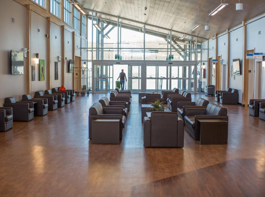 Lodge lobby. (September 2016)