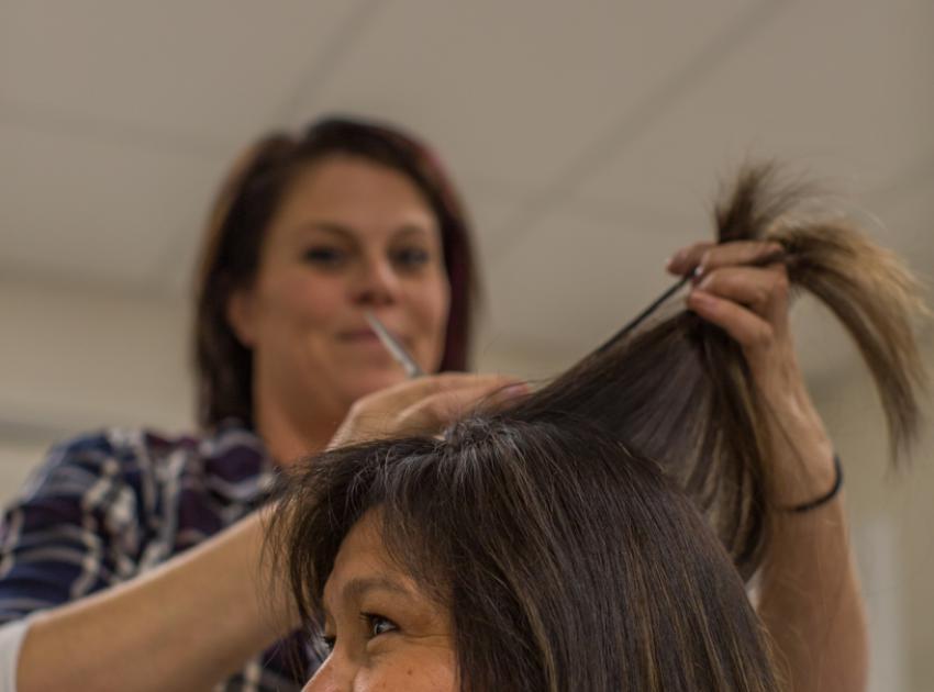 On-site hair salon. (September 2016)